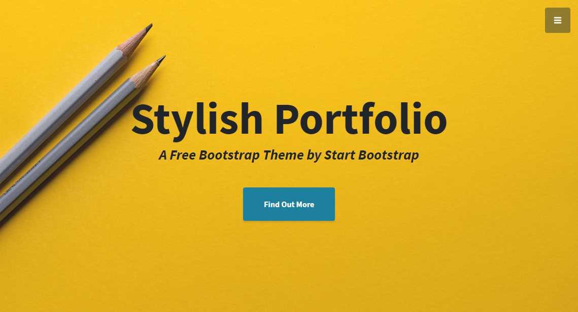 Stylish: A Free Portfolio Template