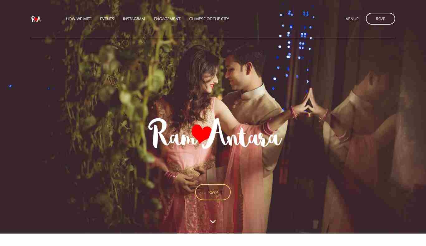 Rampatra Wedding: A Feature Rich, Device Friendly Wedding Website Template
