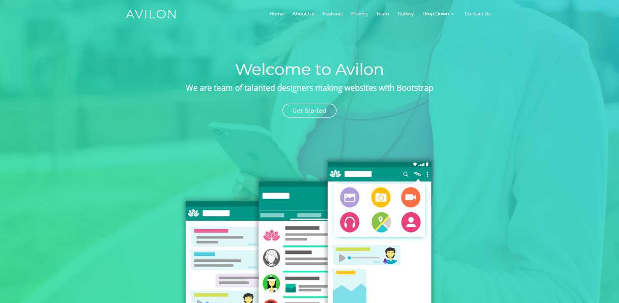 favison  a modern  professional and sophisticated software company template