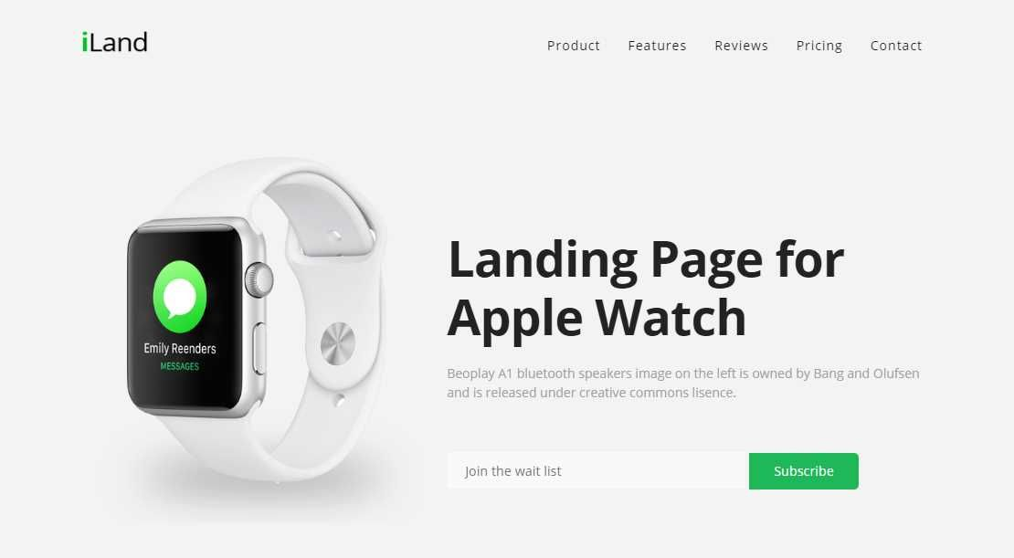 Iland A Multipurpose Landing Product Page Template Best