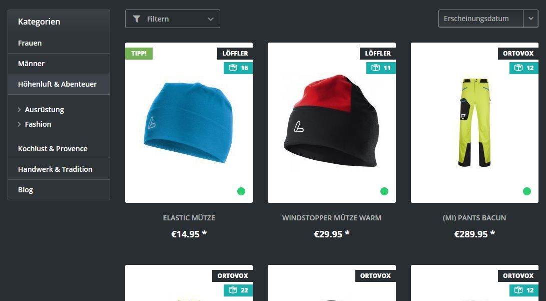 Views / Responsive Theme for Shopware 5