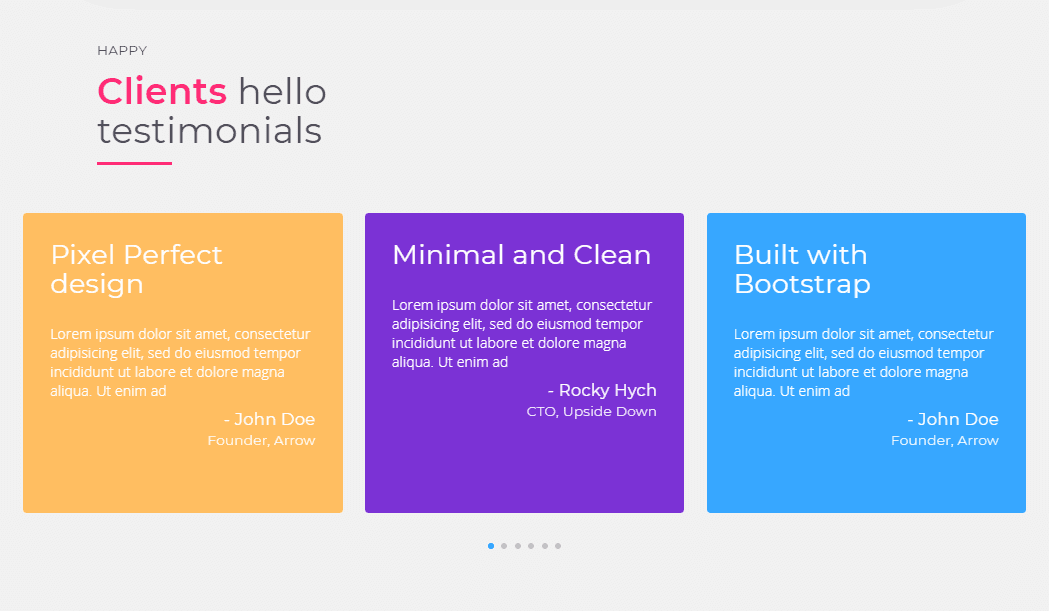 Personal Portfolio: One Page Bootstrap Template