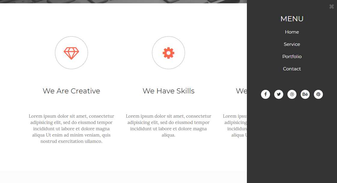 Moderno: A Bootstrap Free HTML5 Multipurpose Responsive Template