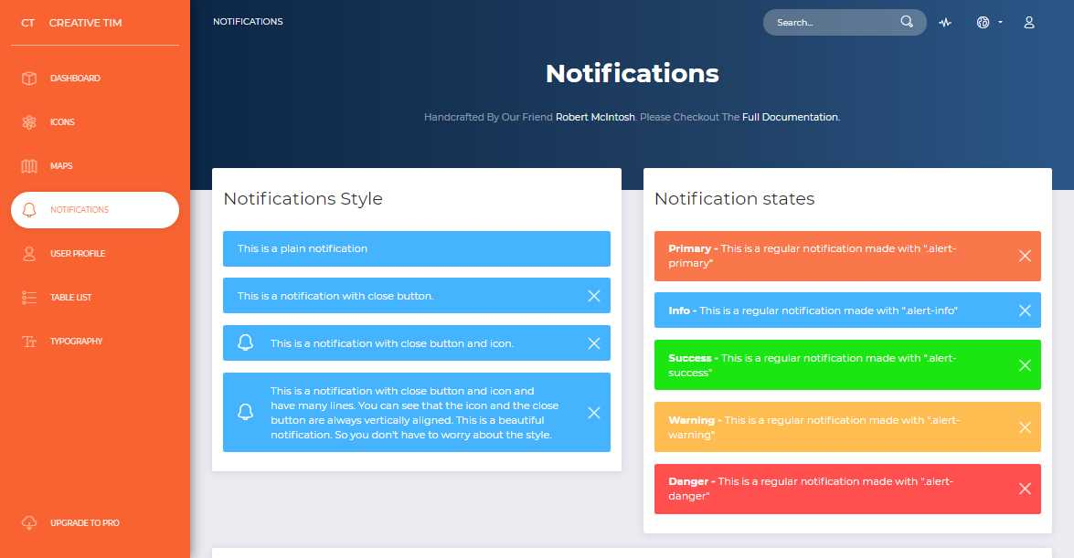 Now UI Dashboard: Free Bootstrap 4 Admin Template