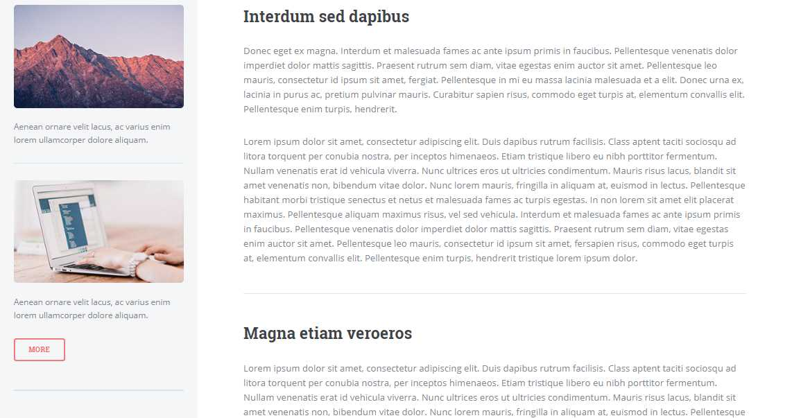 Editorial: A Free and Fully Responsive Magazine Template