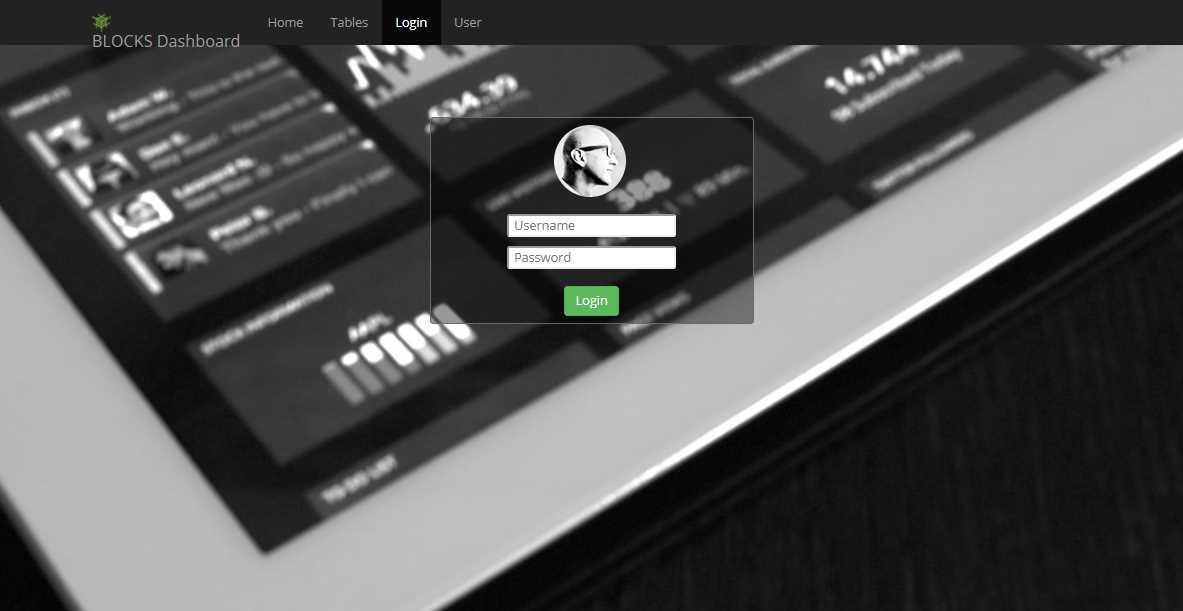 Single Page Admin: A Free Admin Theme