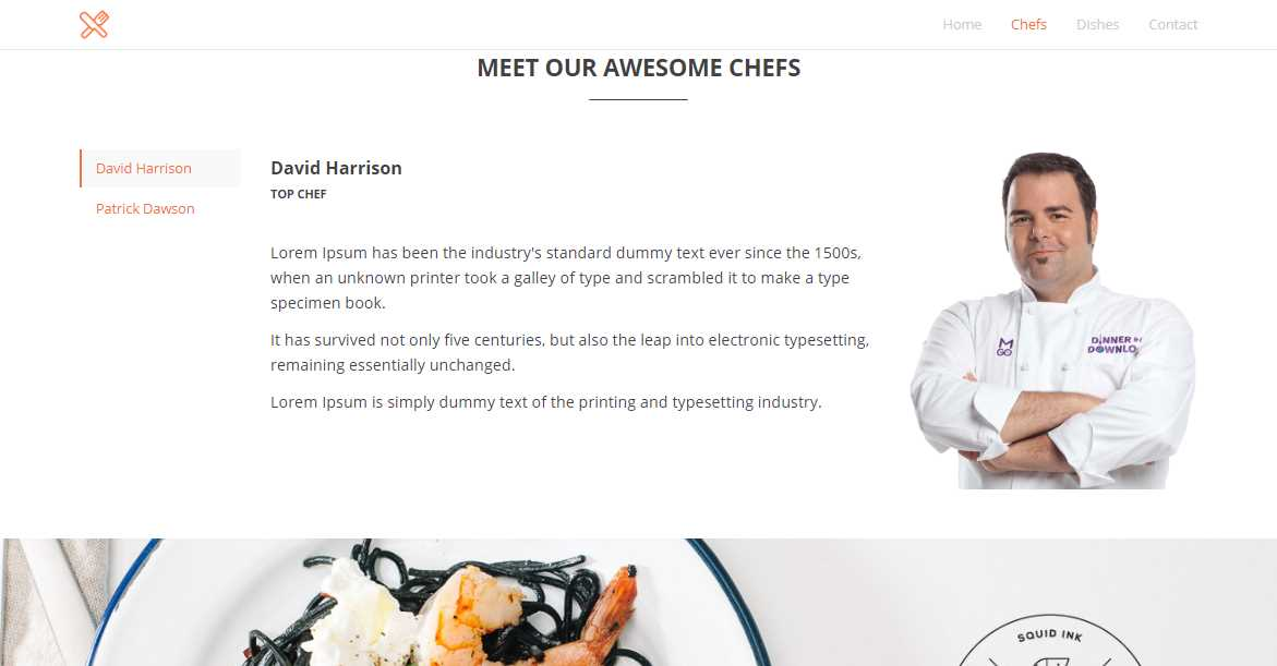FoodLanding: A Bootstrap Landing Page Template