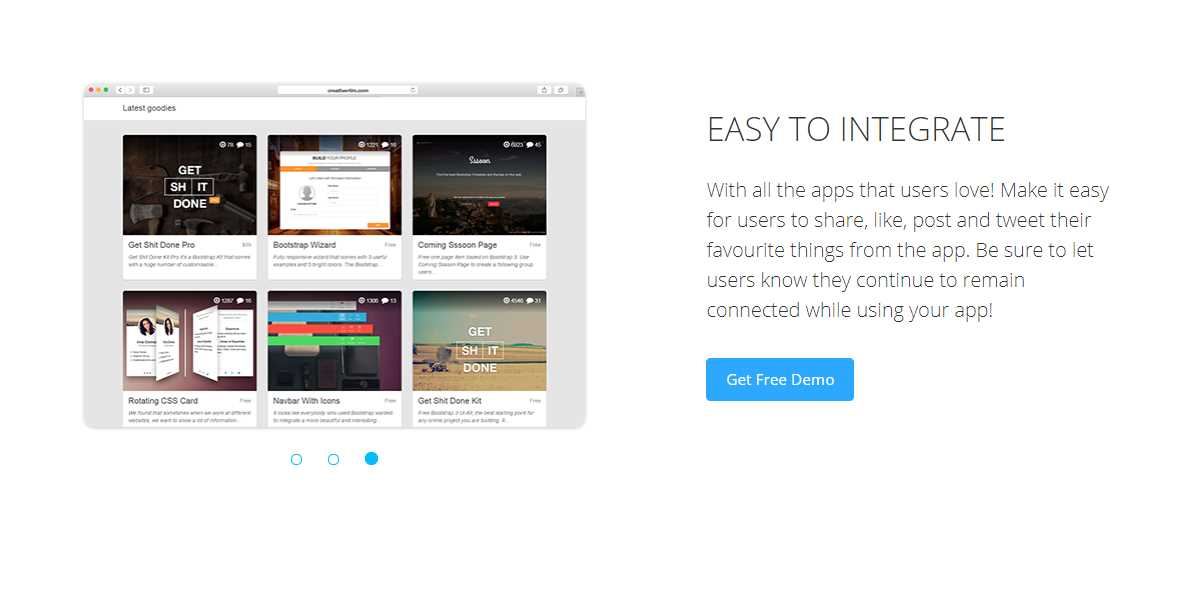Awesome Landing Page: A Free Single Page Template