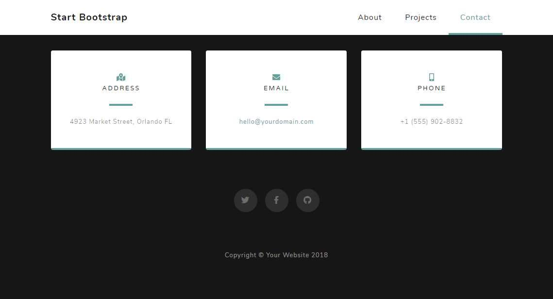 Grayscale: A Free Multipurpose Landing Page