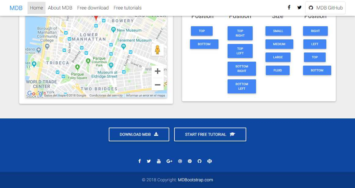 Material Admin: A Free Dashboard