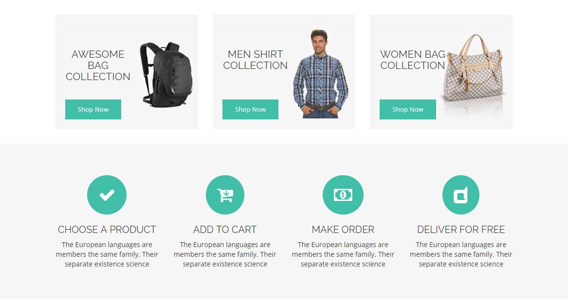 Orani: A Bootstrap ECommerce HTML5 Template