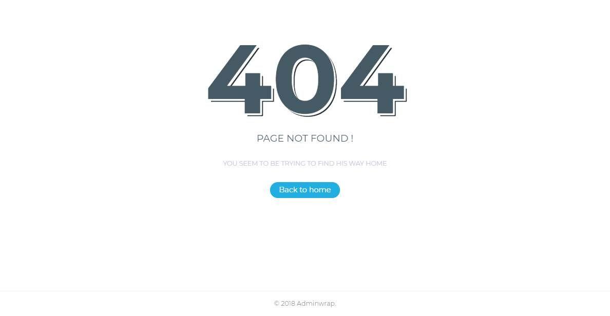 AdminWrap Lite: A Free Bootstrap 4 Dashboard
