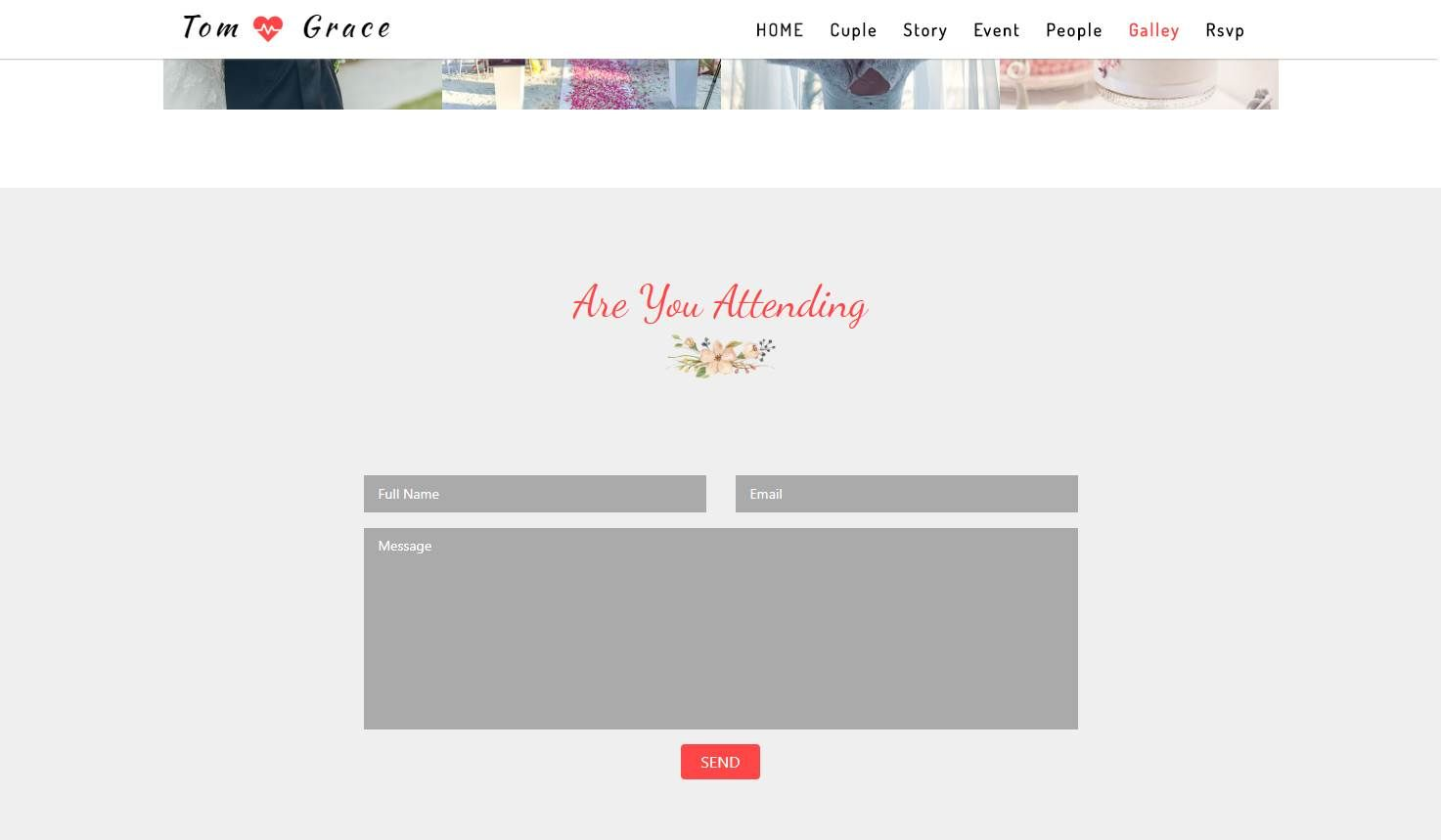 Eternal: A Bootstrap 4 Wedding Template