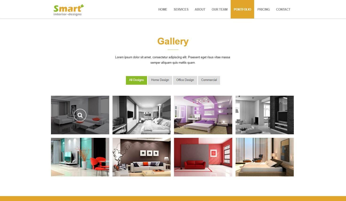 Smart Interior: An Interior Design Website Template