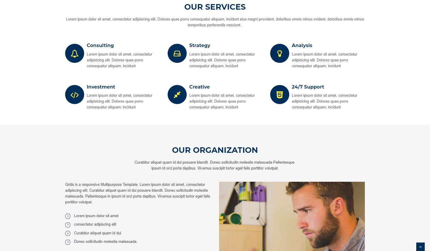 Acura: A Business Bootstrap Website Template