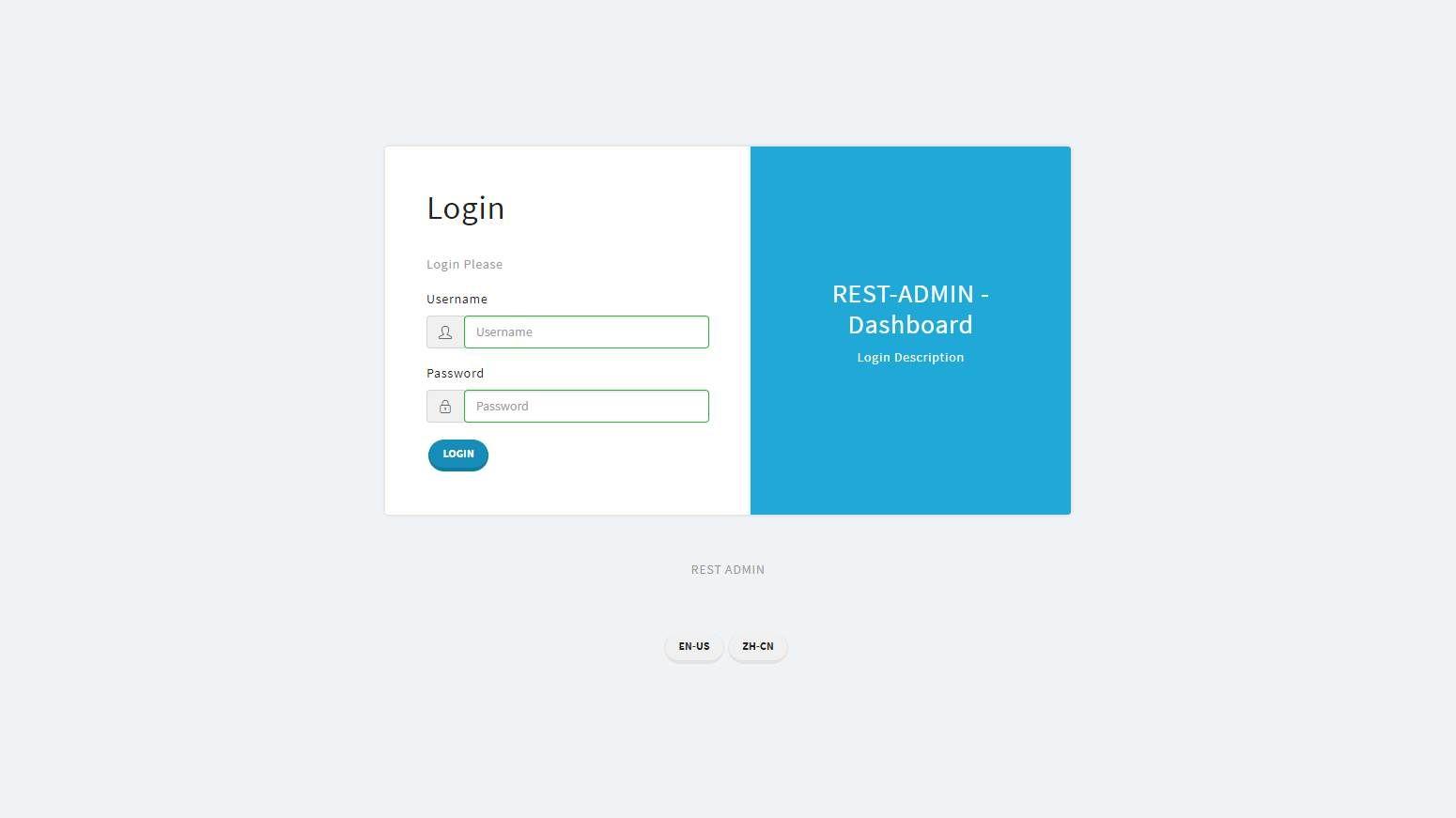 Rest Admin: A VueJS Dashboard