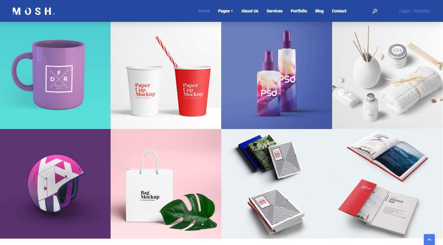 Mosh: A Free Responsive Creative Agency Website Template