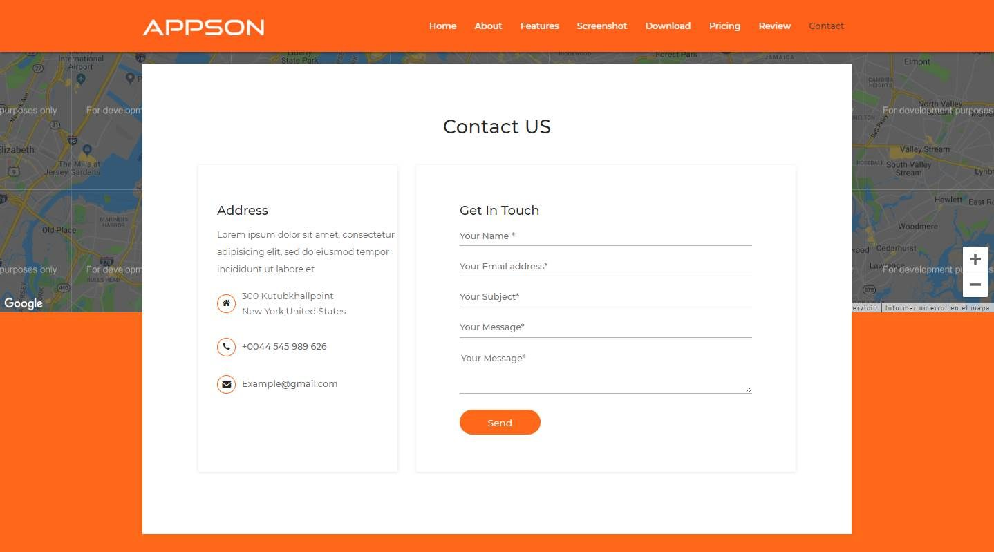 Appson: A Free Mobile App Website Template