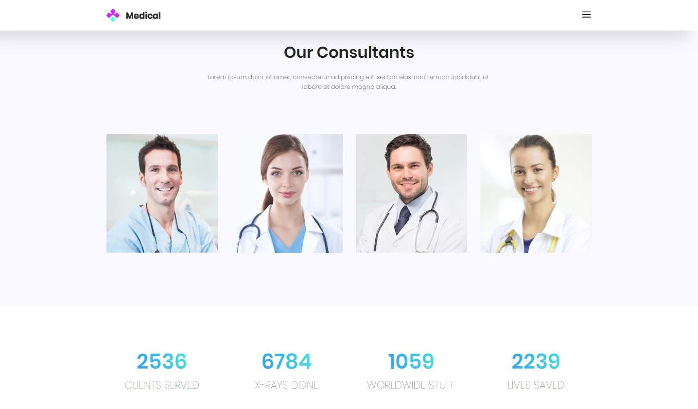 Medical: a Free Healthcare and Medical Template