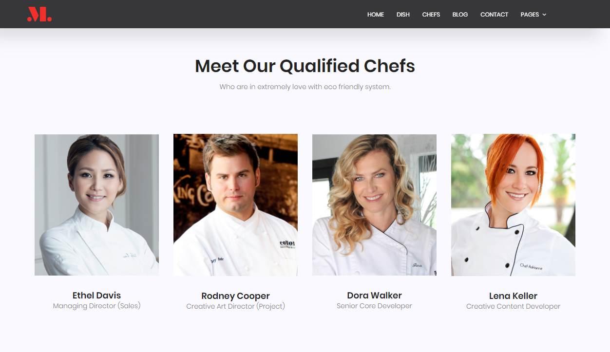 Restaurant: a Fully Featured Restaurant Website Template