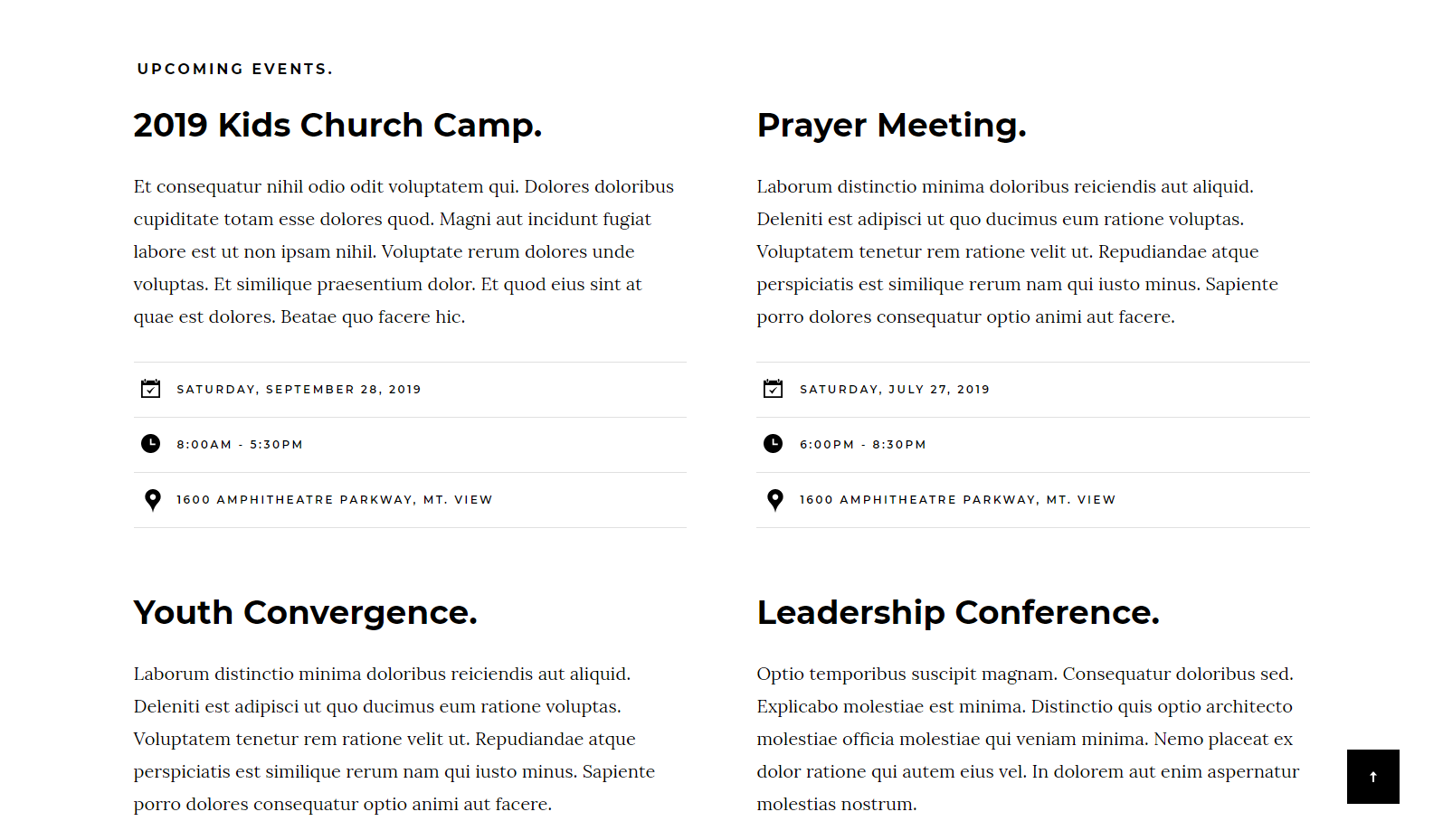 Hesed: a Clean and Modern Free Church Website Template