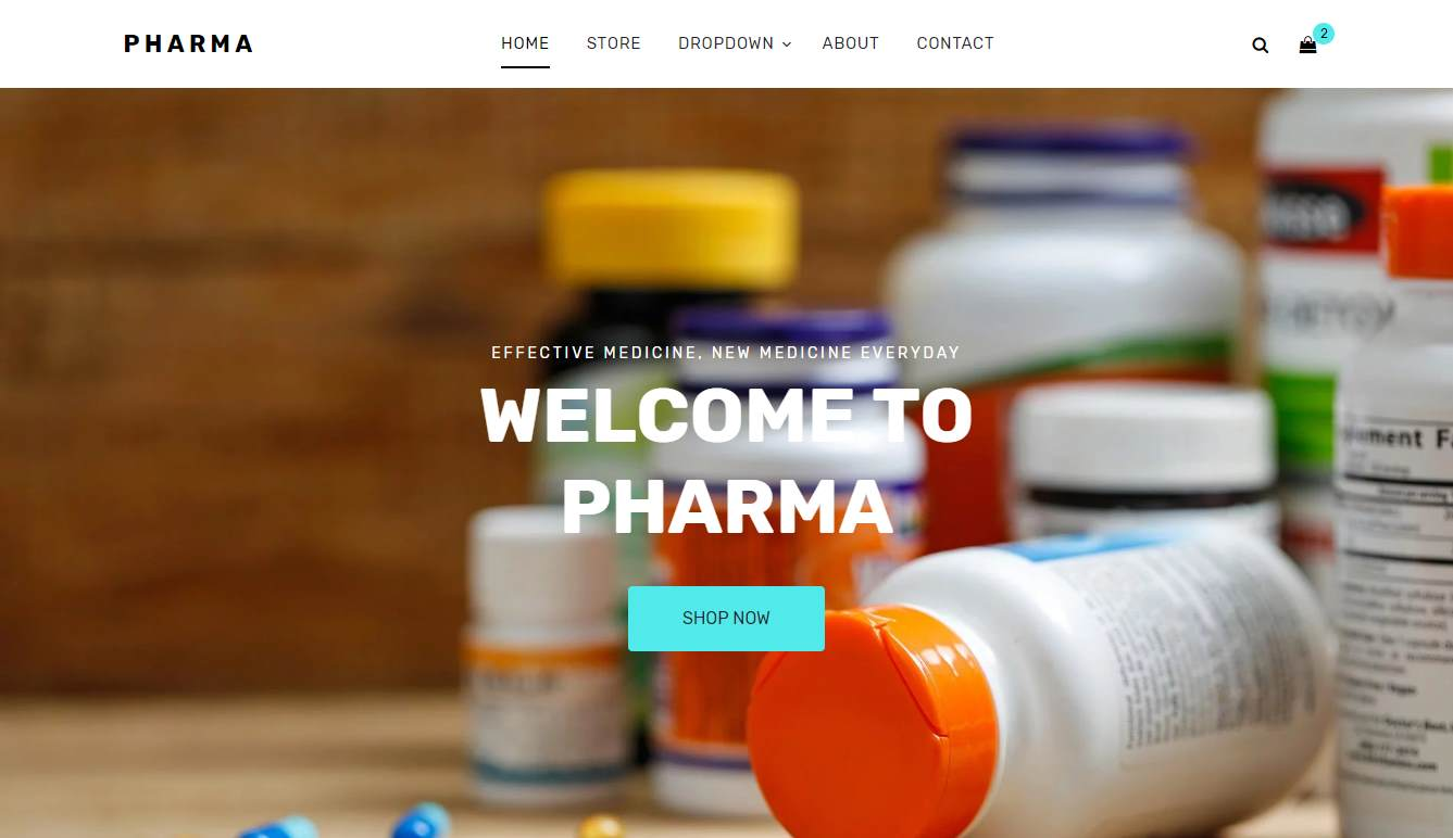 Pharma: a Free Pharmacy Website Template