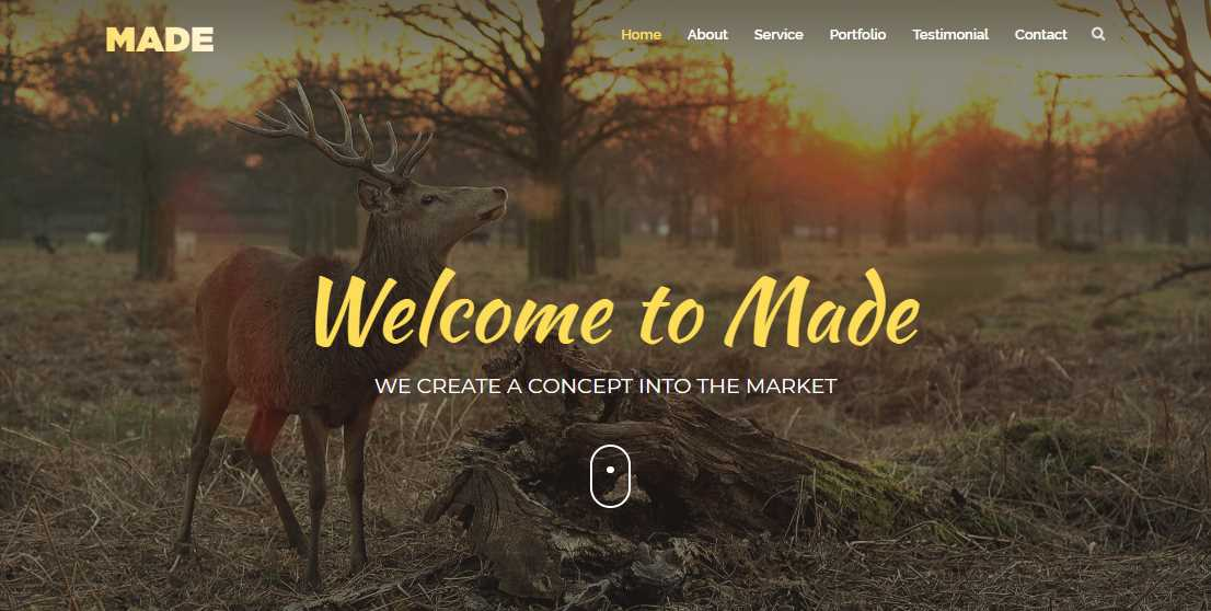 Made Three: An Agency Free Bootstrap Template
