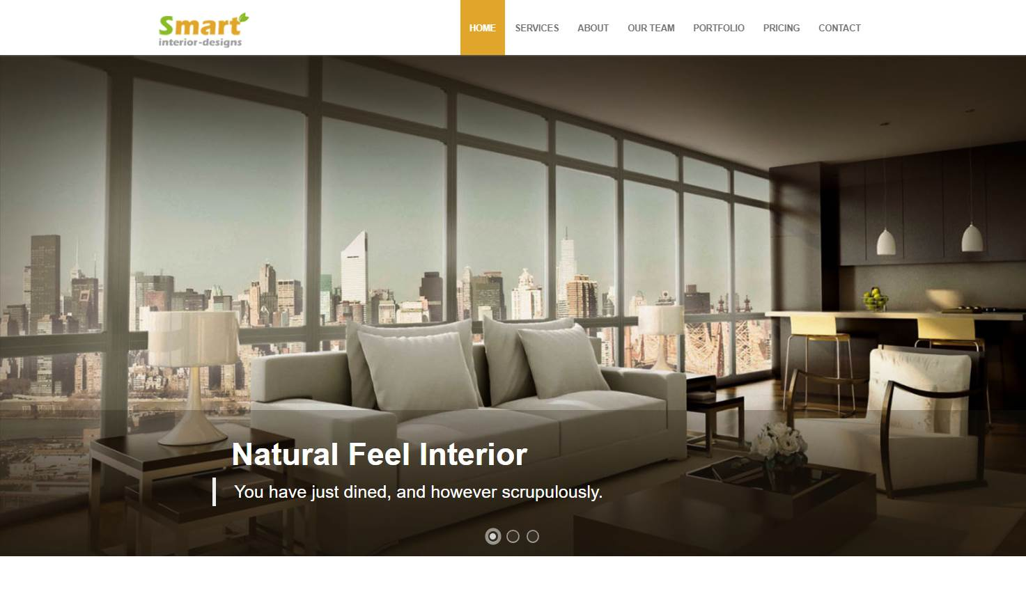 Smart Interior: An Interior Design Website Template
