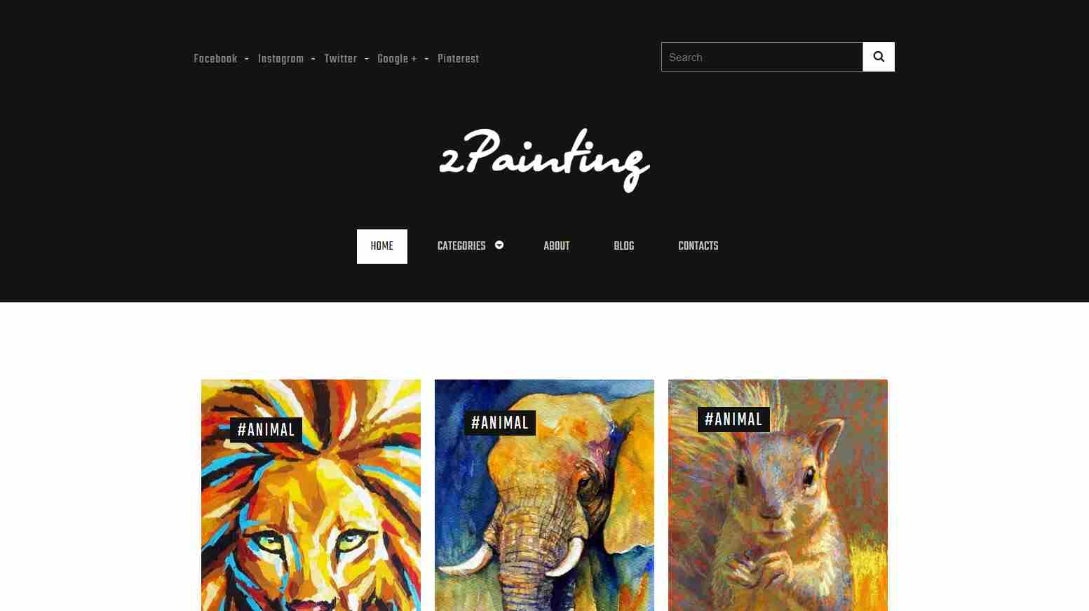 zPainting: A Free Responsive HTML5 Template